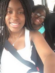 Teia and Sabrina