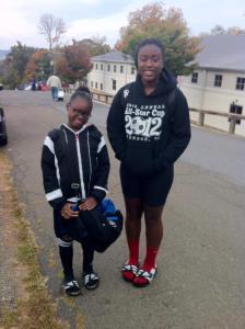 Teia and Sabrina 2